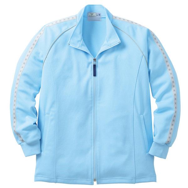 トンボ キラク ケアワークシャツ  サックス   3L  3L CR136-72 1枚  (取寄品)