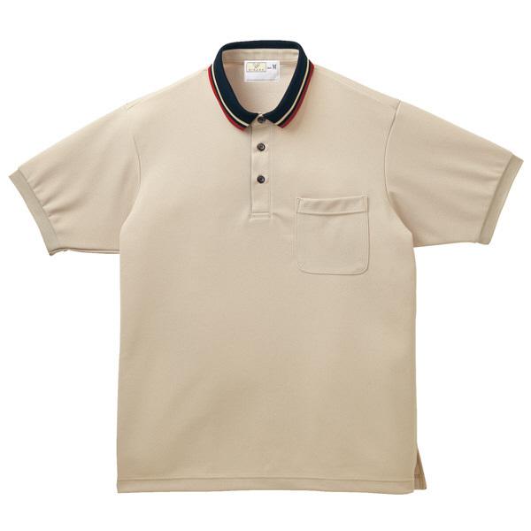トンボ キラク ポロシャツ  ベーシュ  L  L CR140-28 1枚  (取寄品)