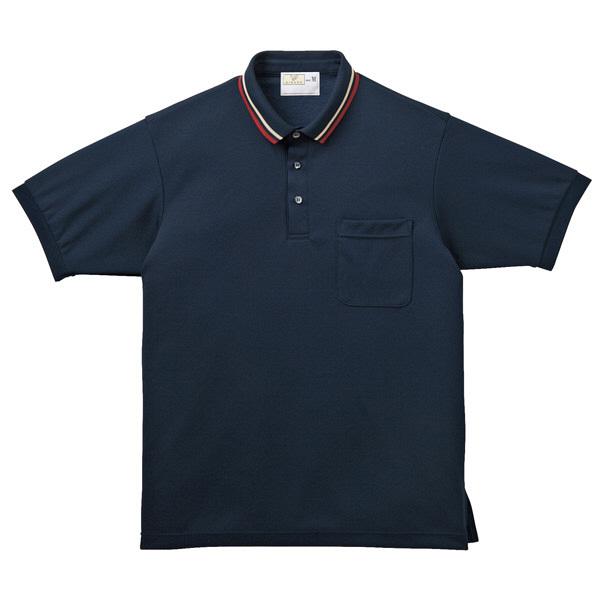 トンボ キラク ポロシャツ  ネイビー  S  S CR140-88 1枚  (取寄品)
