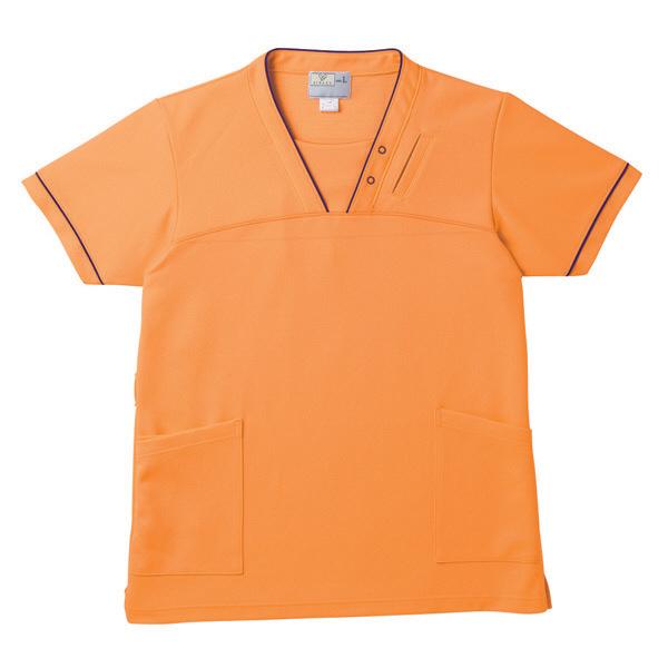 トンボ キラク ケアスクラブ男女兼用 オレンジ S CR152-59 1枚  (取寄品)
