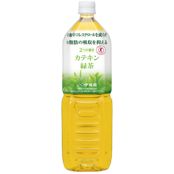 2つの働きカテキン緑茶 1.5L 16本
