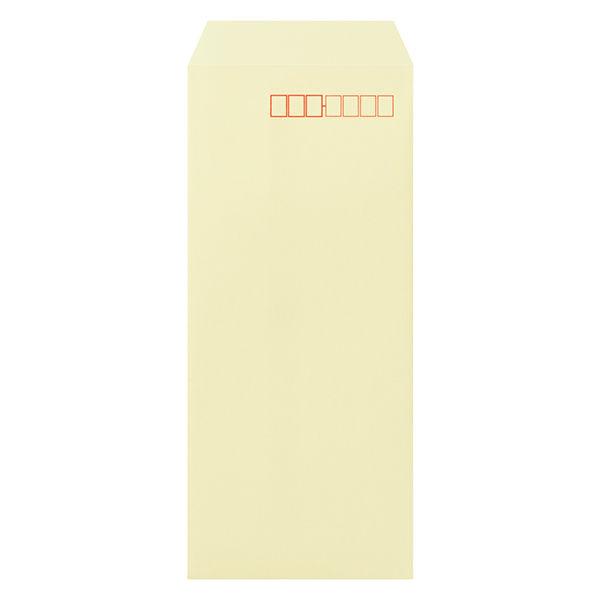 ムトウユニパック ナチュラルカラー封筒 長4 クリーム 100枚