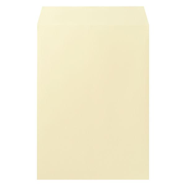 ムトウユニパック ナチュラルカラー封筒 角2(A4) クリーム 100枚