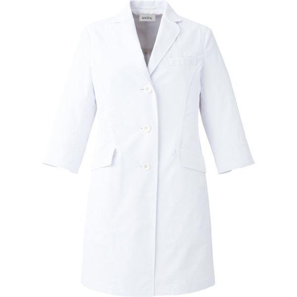【メーカーカタログ】ユナイト ドクターコート[女] ホワイト S UN0049 1枚  (取寄品)