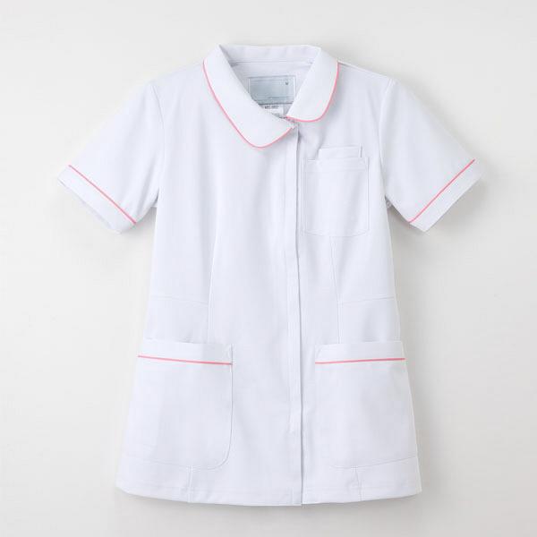 ナガイレーベン ナースジャケット Tピンク S HOS-4902 1枚 (取寄品)