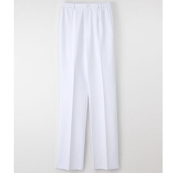ナガイレーベン 女子パンツ ホワイト S HOS-4903 1枚 (取寄品)