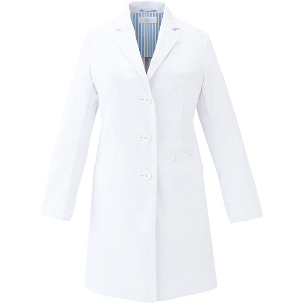 ミズノ ユナイト ドクターコート(女性用) ホワイト 3L MZ0115 医療白衣 診察衣 薬局衣 1枚 (取寄品)