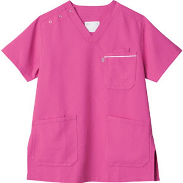 ミズノ ユナイト スクラブ(男女兼用) ライラック SS MZ0018A 医療白衣 1枚 (取寄品)