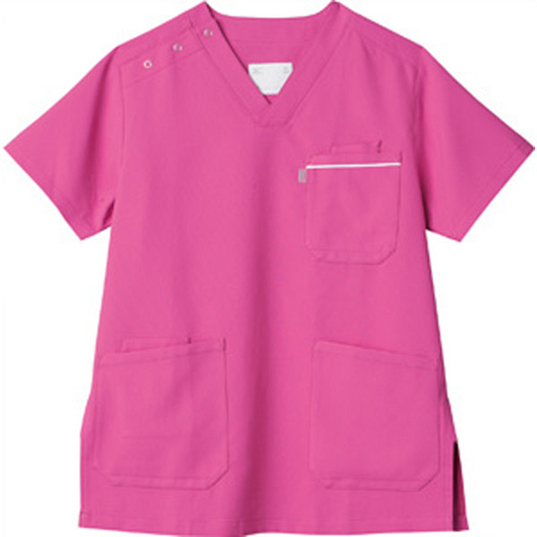 ミズノ ユナイト スクラブ(男女兼用) ライラック 4L MZ0018A 医療白衣 1枚 (取寄品)