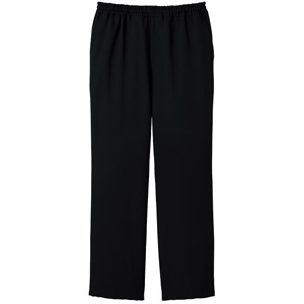 ミズノ ユナイト スクラブパンツ(男女兼用) ブラック LL MZ0022 医療白衣 1枚 (取寄品)