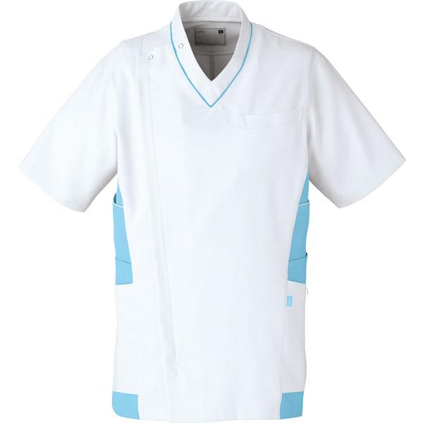 【メーカーカタログ】ユナイト ケーシージャケット[男] サックス S UN0045 1枚  (取寄品)