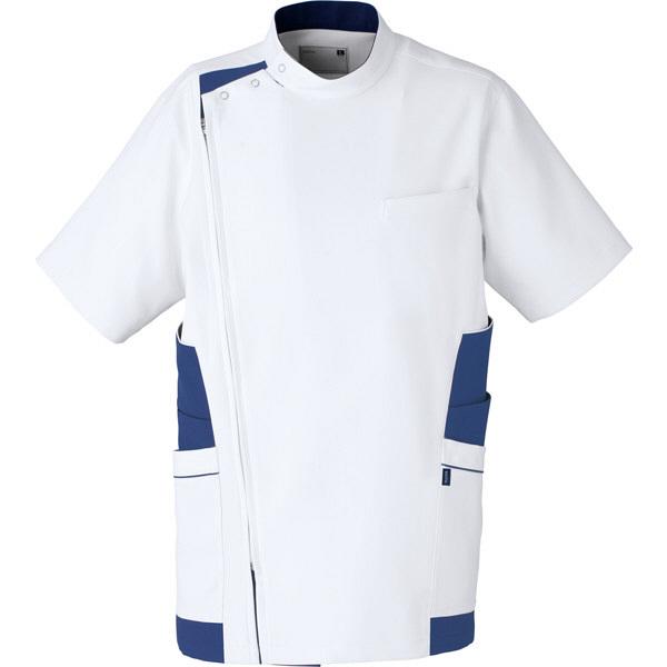 【メーカーカタログ】ユナイト ケーシージャケット[男] ネイビー L UN0046 1枚  (取寄品)