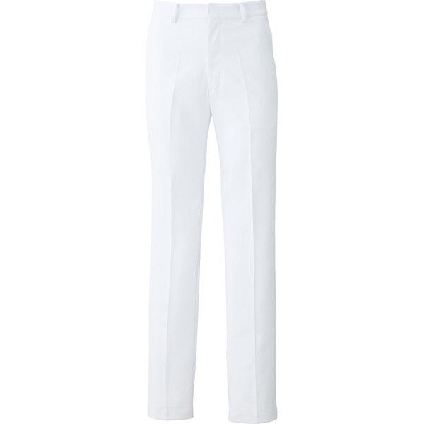【メーカーカタログ】ユナイト パンツ[女] ホワイト L UN0051 1枚  (取寄品)