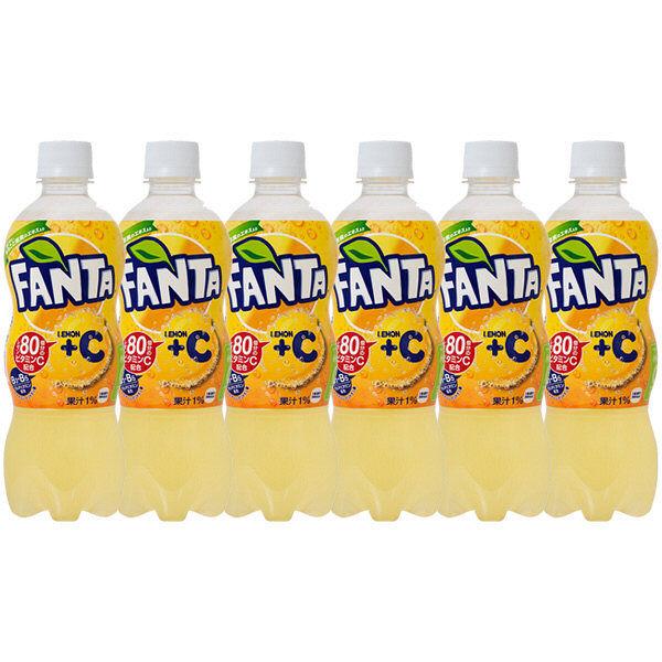 ファンタ レモン+C 490ml 6本