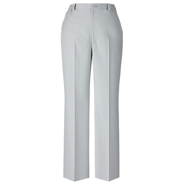 美脚パンツ ノータック グレー PO-2028 グレー EL オンワード 白衣 (取寄品)
