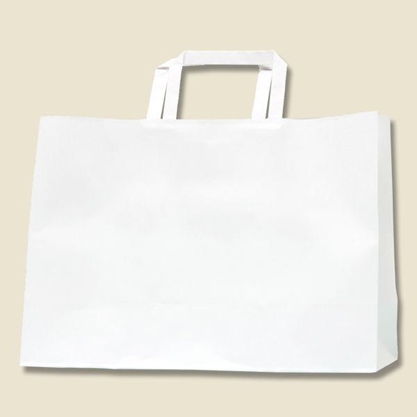 手提げ紙袋 白 200枚