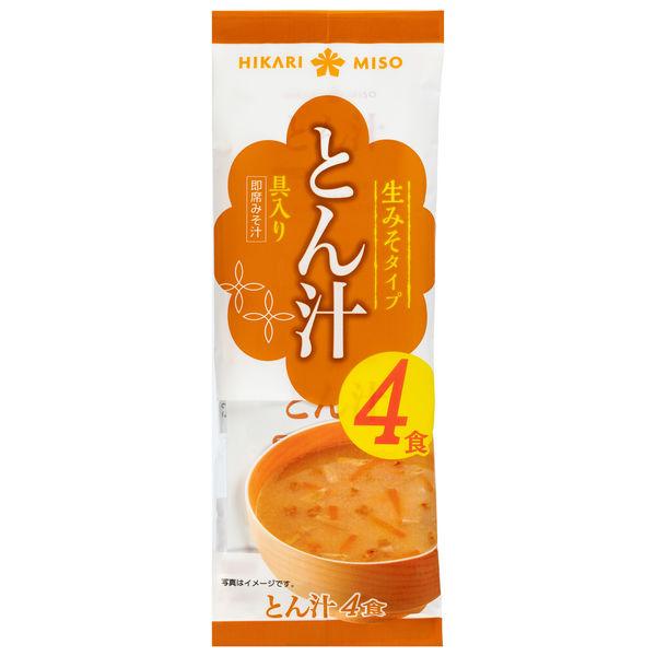 ひかり味噌 ひかり とん汁4食