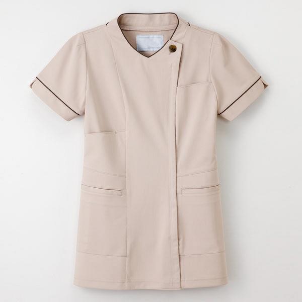 【メーカーカタログ】ナガイレーベン 女子上衣  ベージュ  M LH-6272 1枚  (取寄品)