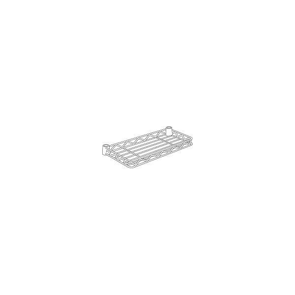 ホームエレクター ハーフシェルフ ホワイト 幅450×奥行180mm H718W 1枚(直送品)(直送品)