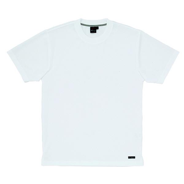 【メーカーカタログ】自重堂 半袖Tシャツ ホワイト 5L 85234 1枚  (取寄品)