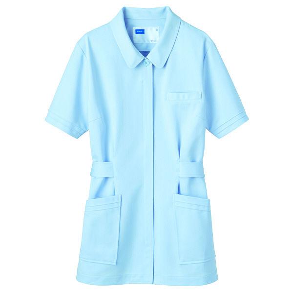 自重堂 チュニック 女性用 ブルー 3L WH10301(取寄品)