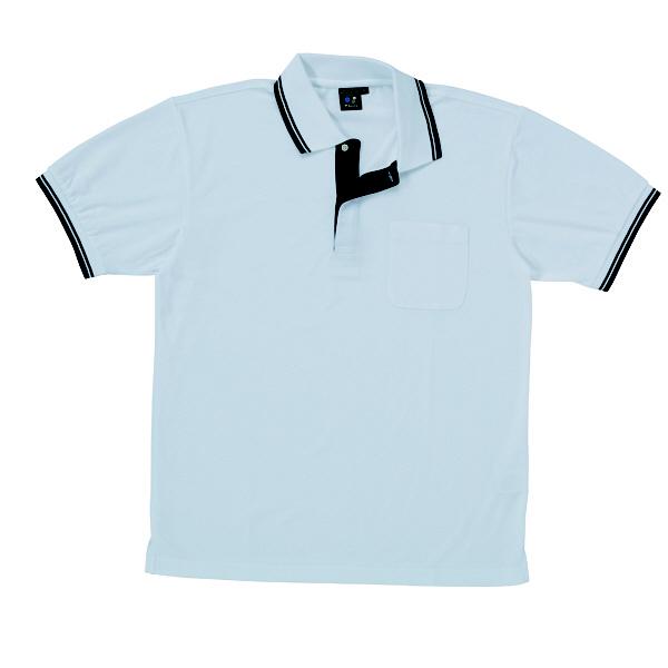 【メーカーカタログ】自重堂 半袖ポロシャツ シルバー 5L 85274 1枚 (取寄品)