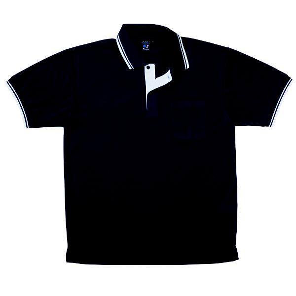 【メーカーカタログ】自重堂 半袖ポロシャツ シックブルー M 85274 1枚 (取寄品)