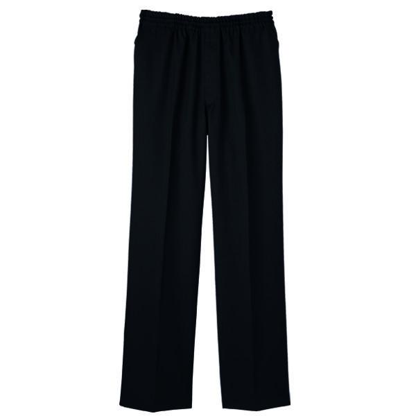 【メーカーカタログ】自重堂 男女兼用パンツ ブラック  L WH11486 1枚  (取寄品)