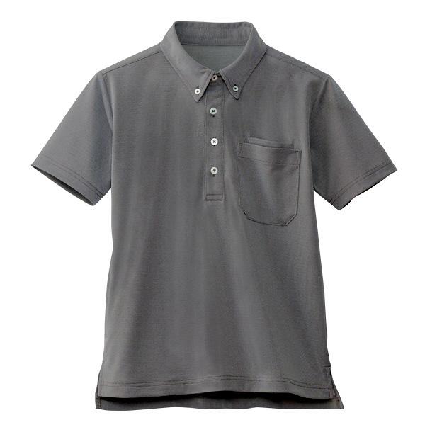 【メーカーカタログ】自重堂 半袖BDポロシャツ ブラウン L WH90618 1枚  (取寄品)