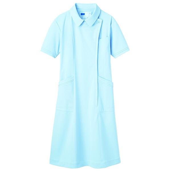 【メーカーカタログ】自重堂 ワンピース ブルー 3L WH10600 1枚  (取寄品)