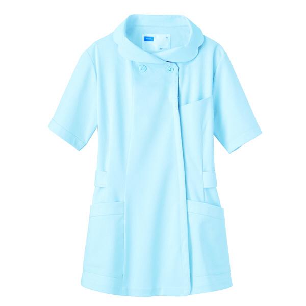 【メーカーカタログ】自重堂 チュニック ブルー LL WH11301  1枚 (取寄品)