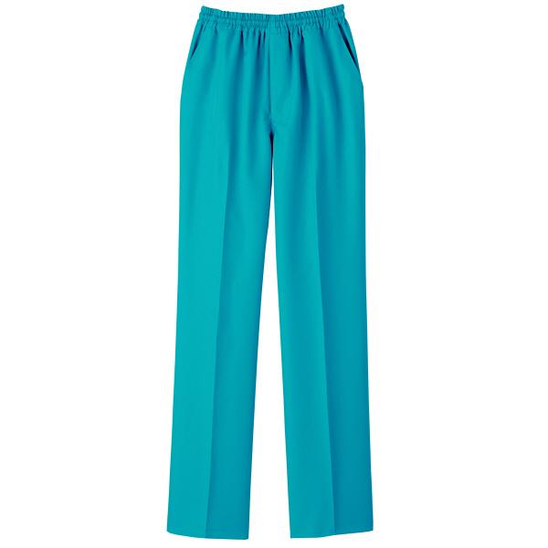 【メーカーカタログ】自重堂 男女兼用パンツ ターコイズブルー  SS WH11486 1枚  (取寄品)