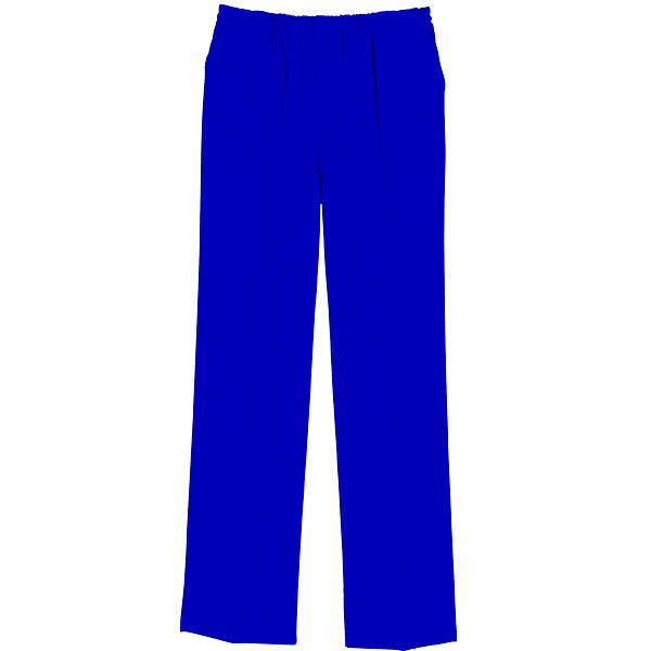 【メーカーカタログ】自重堂 男女兼用パンツ ロイヤルブルー  4L WH11486 1枚  (取寄品)