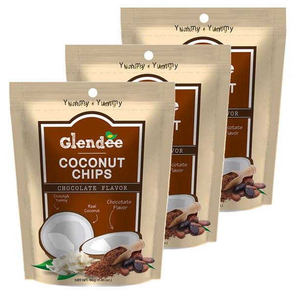 グレンディーココナッツチップチョコ3袋