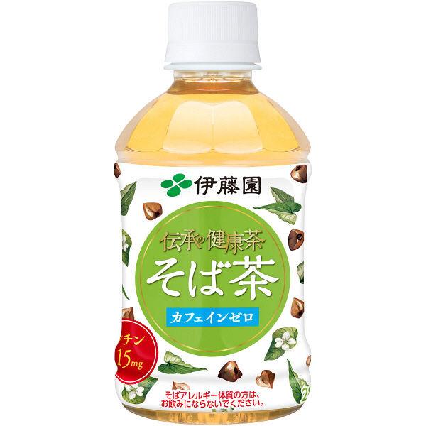伝承の健康茶 そば茶 280ml 24本