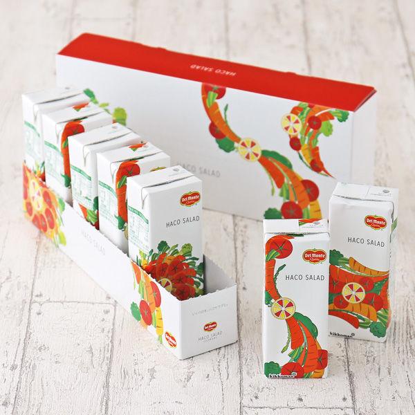 【ロハコサンプル】【1週間お試しセット】デルモンテ HACO SALAD(ハコサラダ) 200ml 1箱(7本入)【野菜ジュース】