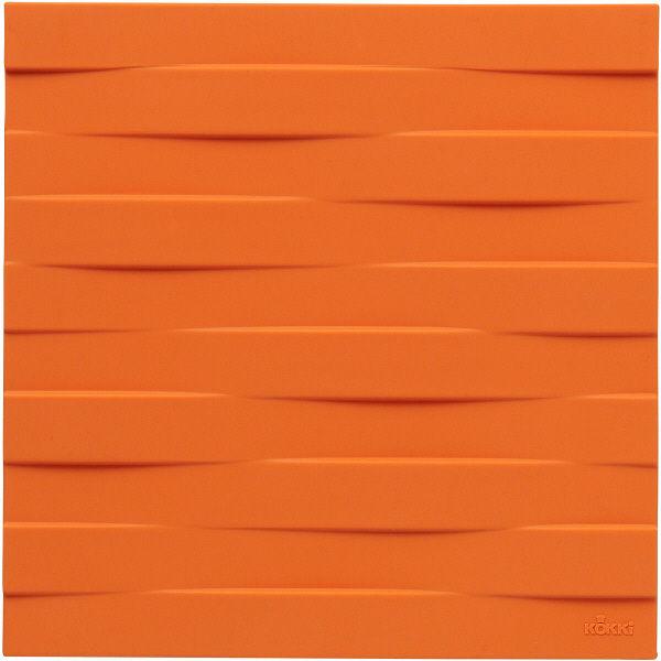 シリコーンなべ敷き角型 サンオレンジ