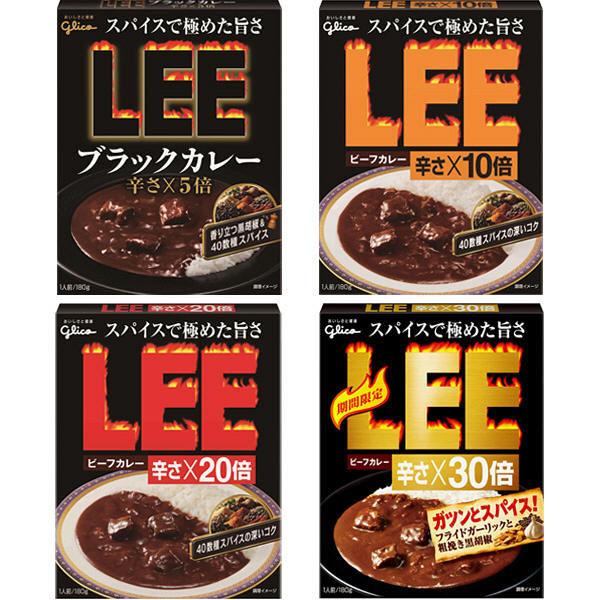 LEEレトルト4種アソート辛さ比べセット