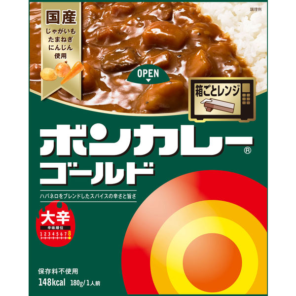 ボンカレーゴールド 大辛 1食