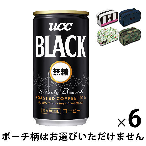 UCC BLACK無糖 185g+おまけ
