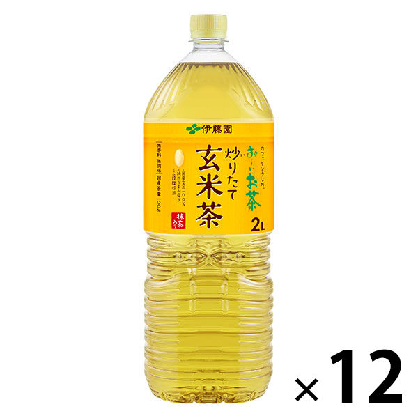 抹茶入り玄米茶 2L 12本