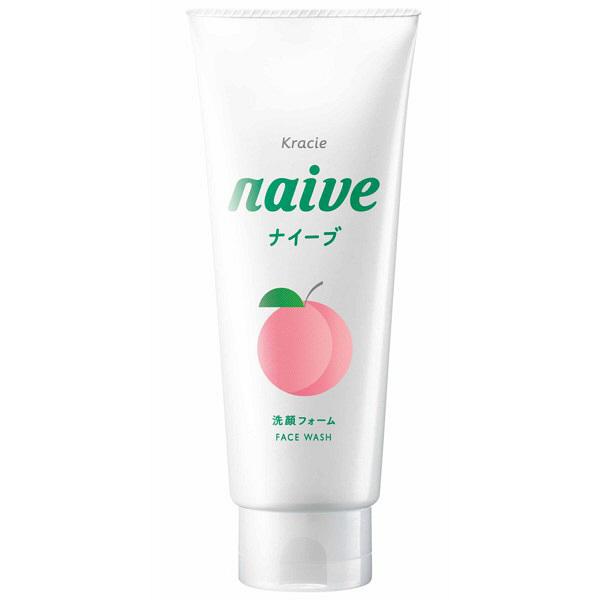 ナイーブ 洗顔フォーム 桃の葉