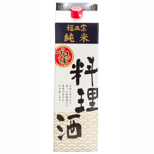 【福光屋】福正宗 料理酒(純米)1.8L