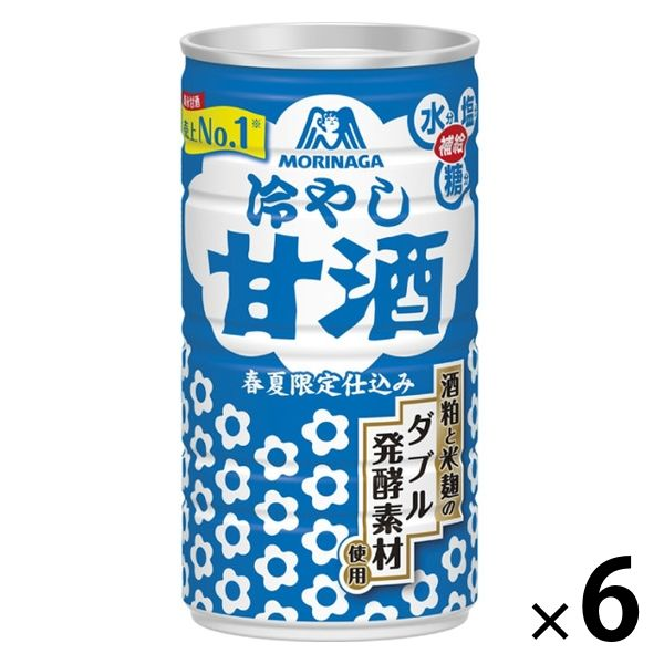 冷やし甘酒 190g 6缶