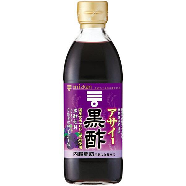 ミツカン アサイー黒酢 500ml