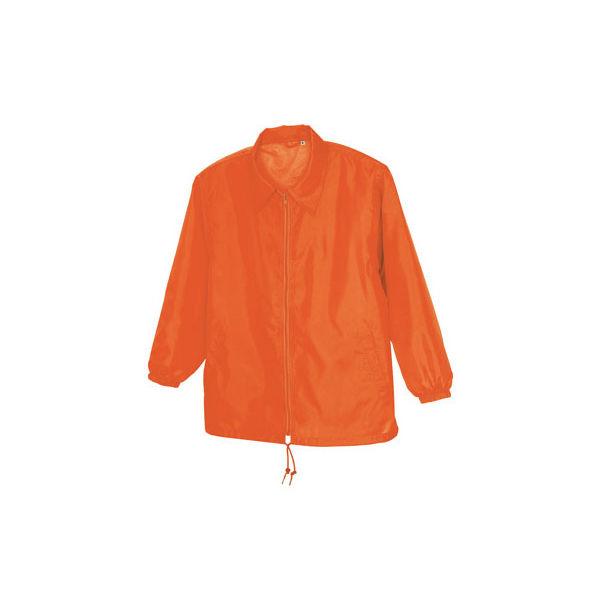 アイトス 裏メッシュジャケット(男女兼用) オレンジ LL AZ50101-063-LL (直送品)