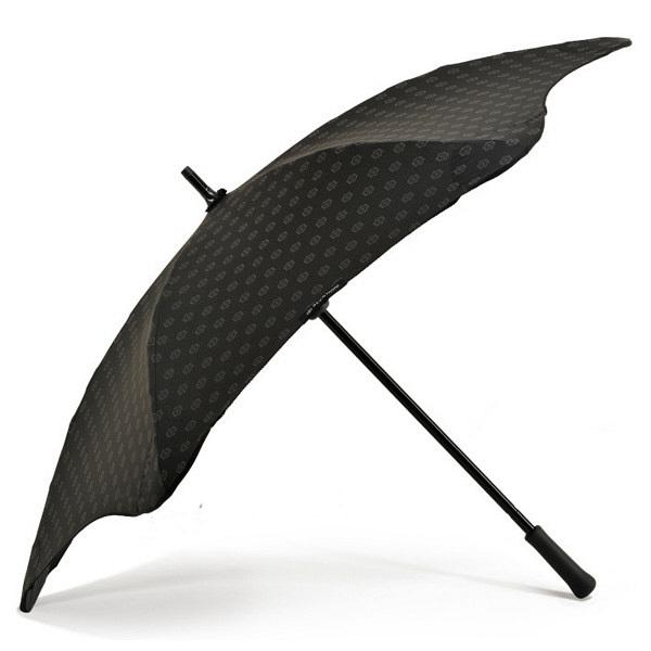 ブラント 女性用手開き長傘 黒