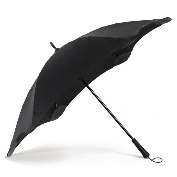 ブラント 男性用手開き長傘 ブラック 黒