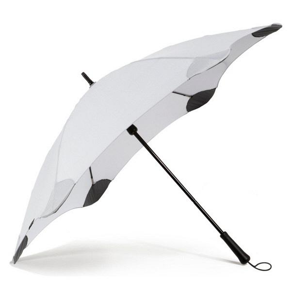 ブラント 男性用手開き長傘 グレー