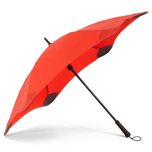 ブラント 男性用手開き長傘 レッド 赤